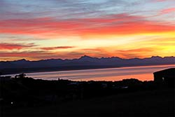 You can't top the colour of this sunrise in Plettenberg Bay.